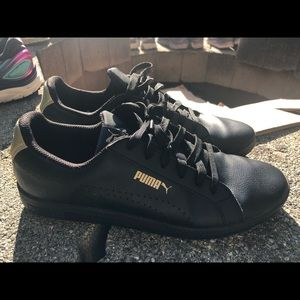 Puma 3662-3802 Women's Black Sneakers Size 10